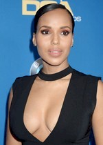 Kerry Washington cleavage