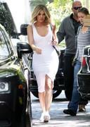 Khloe Kardashian in a tight dress