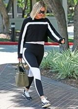 Khloe Kardashian in tights