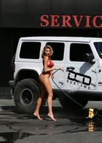 Sexy bikini babe