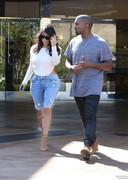 Kim Kardashian ass in denim