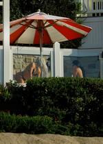 Kim Kardashian in a bikini