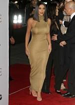 Kim Kardashian is curvy