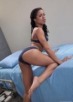 Sexy black nurse