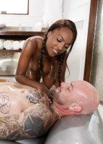 Double ebony massage