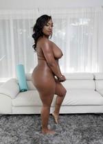 Thick black babe strips