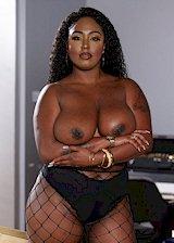 Thick ebony porn star