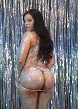 Thick booty in glitter