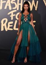 Maya Jama in a sexy dress