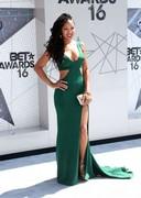 Meagan Good in a tight dress