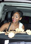 Meagan Good pulled over