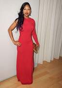 Meagan Good is sexy in red