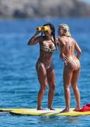 Mel-B in a bikini