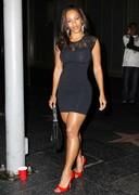 Melyssa Ford in a tight dress