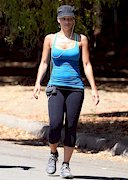 Melyssa Ford exercise in spandex