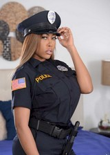 Big booty black cop