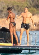 Naomi Campbell bikini candids