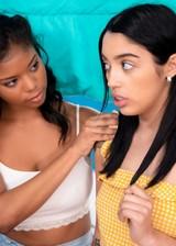 Exotic lesbian teens