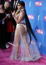 Nicki Minaj at the 2018 MTV VMAs
