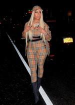 Nicki Minaj in a sexy dress