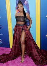 Normani Kordei on the red carpet