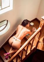 Naked Brazilian babe