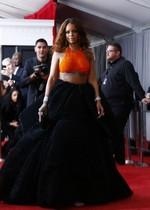 Rihanna on the red carpet