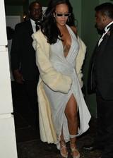 Rihanna cleavage