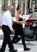 Rihanna in a bra