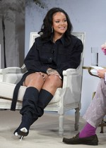 Rihanna thick legs