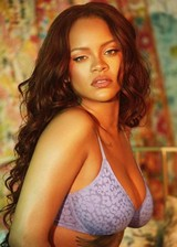 Rihanna in underwear
