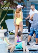 Rihanna in a swimsuit