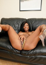Busty ebony porn star