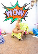 Porn star bubble butt