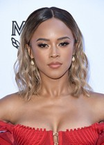 Serayah McNeill in a tight dress
