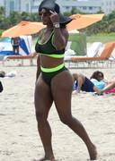 Serena Williams big ass in a bikini