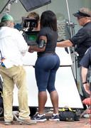 Serena Williams in tights
