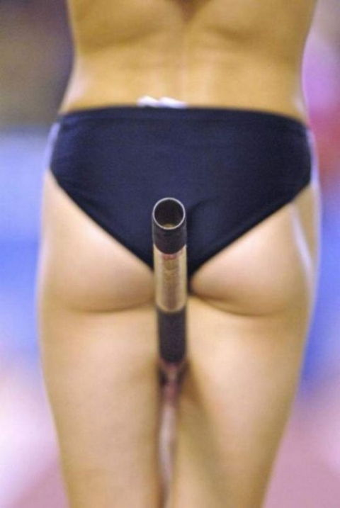 Interesting Pole vault pussy obviously were