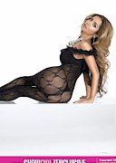 Shakur Sozahdah in lingerie