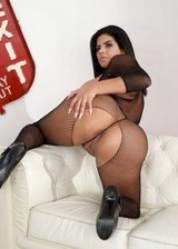 Big booty latina in lingerie