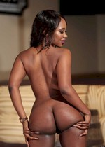ebony girl gets naked