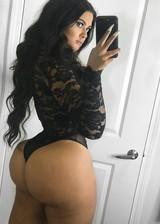 Girl with big booty