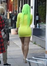 Big butt in a tight dress