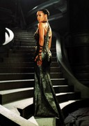 Thandie Newton as a smoking hot space babe
