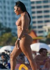 Tommie Lee in a bikini