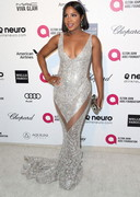 Toni Braxton in a sexy dress