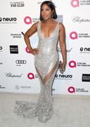 Toni Braxton in a sexy dress