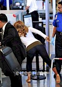 Toni Braxton in tights