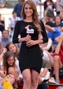 Yanet Garcia in a tight dress