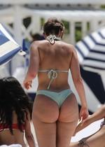 Phat girl in a bikini